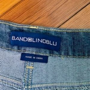 Bandolino Stretch Women's Demin Skirt